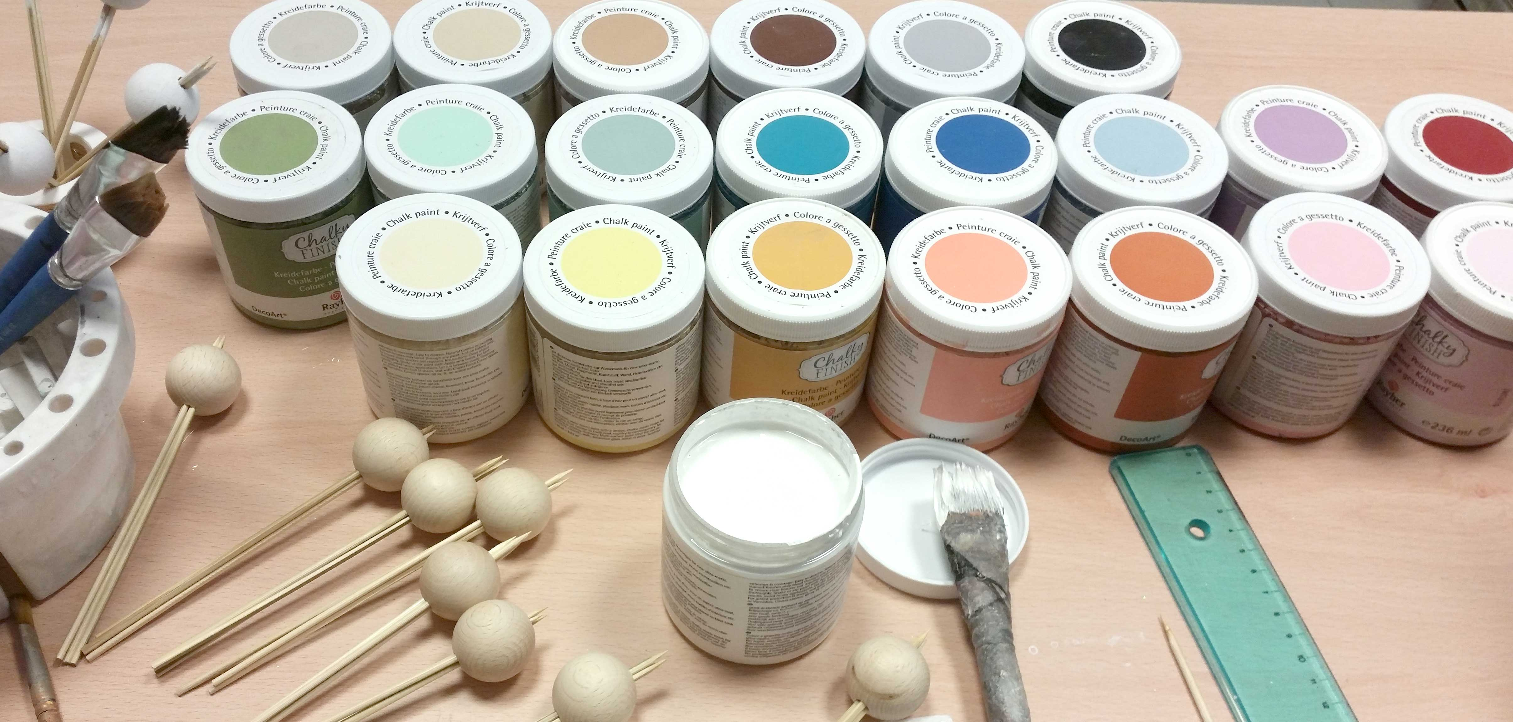 colori a gesso rayher hammeley creare insieme